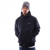 Carhartt WIP Hooded Sail Jacket I022721 Jackets Black / White