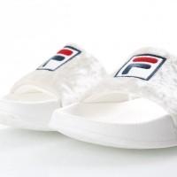 Afbeelding van Fila Ladies 1010342-00R Slide sandal Palm beach v Grijs