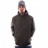 Afbeelding van Carhartt WIP Hooded Sail Jacket I022721 Jackets Cypress / Black