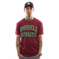 Afbeelding van Russell Athletic Iconic Short Sleeve A9-002-1 T shirt Maroon Wine