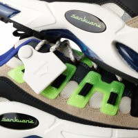 Afbeelding van Puma CELL ENDURA SANKUANZ 369611 Sneakers Cloud Cream-Green Gecko-Puma Black