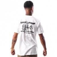 Afbeelding van Etnies BEER AND FISH S/S TEE 4130002277 T shirt WHITE 20