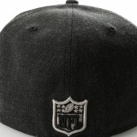 Afbeelding van New Era Nfl Heather 5950 Oakland Raiders 11794648 Fitted Cap Heather Black/Gray/Black Nfl