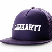 Carhartt WIP College Trucker Cap I025652 Trucker Cap Royal Violet / White