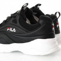 Afbeelding van Fila Ray Low Wmn 1010562 Sneakers Black