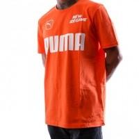 Afbeelding van Puma ANR Tee 576550 T shirt Scarlet Ibis
