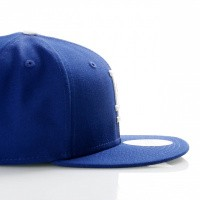 Afbeelding van New Era Ac Perf 59Fifty 70331962 Fitted Cap Offical Team Colour Mlb Los Angeles Dodgers