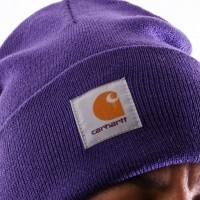 Afbeelding van Carhartt WIP Acrylic Watch Hat I020222 Muts Frosted Viola
