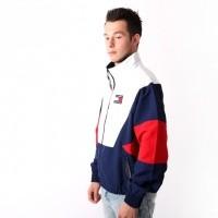 Afbeelding van Tommy Jeans 90s Track Jacket Peacoat Multi DM0DM04828-901