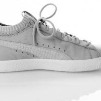 Afbeelding van Puma Clyde Sock Lo DIAMOND 365653 sneakers glacier gray-glacier gray