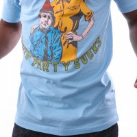 Afbeelding van Chinatown Market Party Tee CTMF18-PTS T shirt Blue