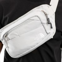 Afbeelding van The North Face Bozer Hip Pack II T92UCX Heuptas High Rise Grey/Tnf White