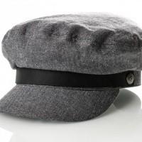 Brixton FIDDLER CAP 4 Flatcap MIDDLE GREY
