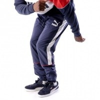 Puma Retro Woven Pants 576377 Track Pant Blue-Red-White