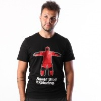 Afbeelding van The North Face M S/S NSE SERIES TEE T93L3GJK3 T shirt TNF BLACK