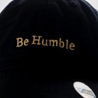 Afbeelding van Ethos Be Humble KBSV-074 black KBSV-074 dad cap black
