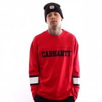 Carhartt WIP L/S Thorpe College T-Shirt I026412 Longsleeve Cardinal
