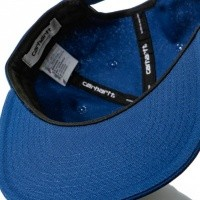 Afbeelding van Carhartt WIP Logo Cap I023099 Snapback cap Metro Blue