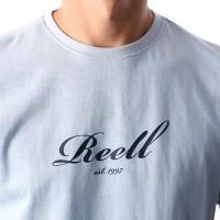 Afbeelding van Reell T-Shirt Script T-Shirt 1301-015 1300 Sky Blue