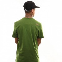 Afbeelding van The North Face M S/S Simple Dome Te T92Tx5 T Shirt Garden Green
