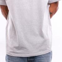 Afbeelding van Carhartt Wip S/S American Script T-Shirt I025711 T Shirt Ash Heather