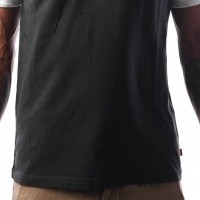 Afbeelding van Levi`s SS RINGER TEE HOUSEMARK 39969-0010 T-Shirt Hm Ringer Black/White