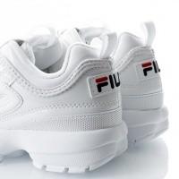 Afbeelding van Fila Disruptor M low wmn 1010441 Sneakers 1FG white (patent)
