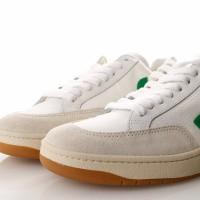Afbeelding van Veja V-12 Xd010296 Sneakers White / Emeraude