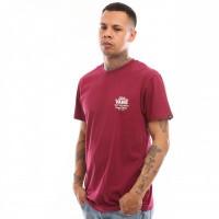 Afbeelding van Vans Holder Street Ii VN0A36O1TDA T shirt Rhumba Red-White