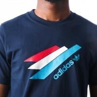 Afbeelding van Adidas Palmeston Tee OG DJ3451 t-shirt COLLENAVY/COLLENAVY