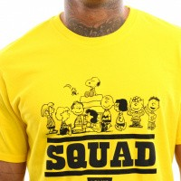 Afbeelding van Levi`s Graphic Set-In Neck 2 22491-0514 T shirt Peanuts Squad Cyber Yellow