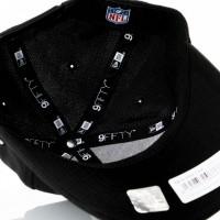 Afbeelding van New Era Stretch Snap 9Fifty 11871278 Snapback Cap Black/Offical Team Colour Nfl Oakland Raiders