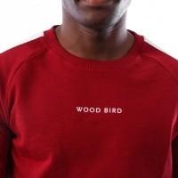 Afbeelding van Wood Bird Kris Goal Crew 1836-613 Navy Red Peppers/Black