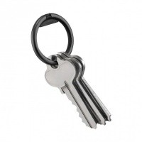 Afbeelding van Orbitkey Ring Twin Pack RNG-TWIN-BKED Sleutelhanger All Black