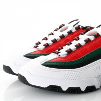 Afbeelding van Dc Legacy Og M Shoe Wgn Adys100476 Sneakers White/Green