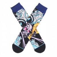 Afbeelding van Stance WARPED R2D2 M545D18WAR sokken BLACK