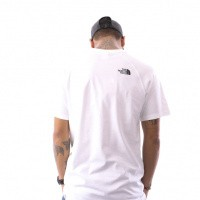 Afbeelding van The North Face M S/S Rag Red Box Te T93BQOFN4 T shirt Tnf White