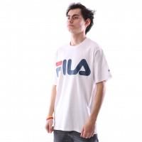 Afbeelding van Fila 680427-M67 T-shirt Classic logo Wit