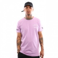 In Gold We Trust Logo Tee Fa-069 T Shirt Purple