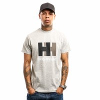 Helly Hansen 53165-949 T-shirt HH Logo Grijs