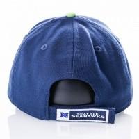 Afbeelding van New Era Nfl The League Seattle Seahawks 10517868 Dad Cap Official Team Colour Nfl