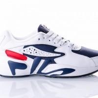 Afbeelding van Fila Mindblower wmn 5RM00161 Sneakers white/fila navy / fila red