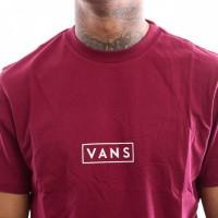 Afbeelding van Vans Vans Easy Box Ss Vn0A3Hretda T Shirt Rhumba Red-White