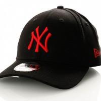 Afbeelding van New Era 9Forty Ne12023018 Dad Cap Black/Deep Red New York Yankees