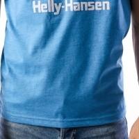 Afbeelding van Helly Hansen 53165-689 T-shirt HH Logo Blauw