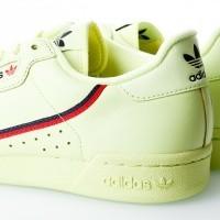 Afbeelding van Adidas CONTINENTAL 80 B41675 Sneakers semi frozen yellow/scarlet/collegiate navy
