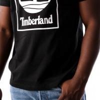 Afbeelding van Timberland SLS SS Seasonal logo tee TB0A1N8Y0011 T shirt Black