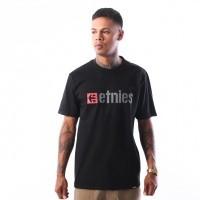Afbeelding van Etnies NEW BOX S/S TEE 4130002282 T shirt BLACK 15