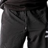 Afbeelding van Puma Retro Woven Pants 576377 Track Pant Black-White