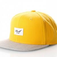 Reell Pitchout Cap 1402-041 Snapback Cap Yellow / Hth. L. Grey